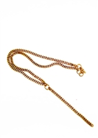 Rail Chain Lariat Necklace by Janesko