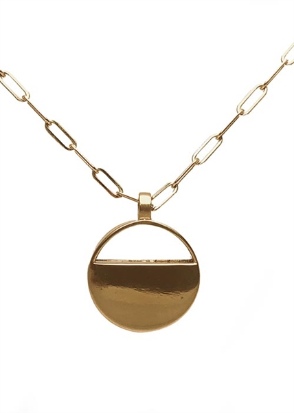Traveler Locket Round necklace by Janesko