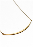 Curve Necklace by Janesko