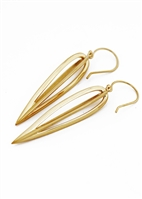 Curve Cage Earrings by Janesko