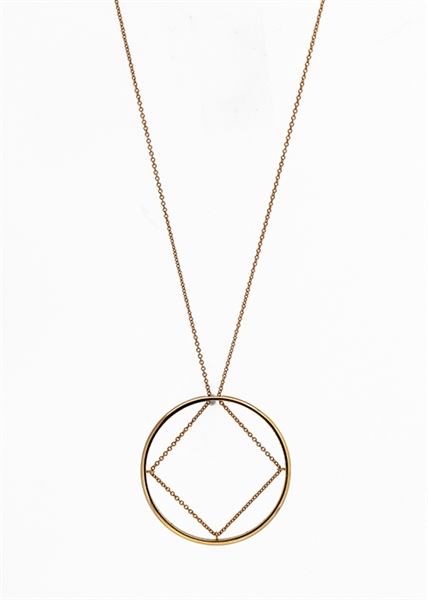 Truss Pendant Necklace by Janesko
