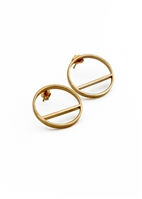 Level Hoop Earrings by Janesko