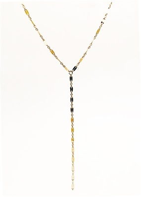 Custom Delicate Lariat Necklace