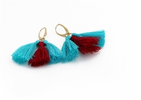 Custom Small Lever Multi Tassel Earrings
