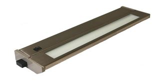 American Lighting PRIORI Series T2 Brushed Steel 043T-14-BS