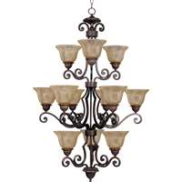 Symphony 12-LT Multi-Tier Chandelier