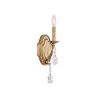 1LT Sconce w/Crystals Included