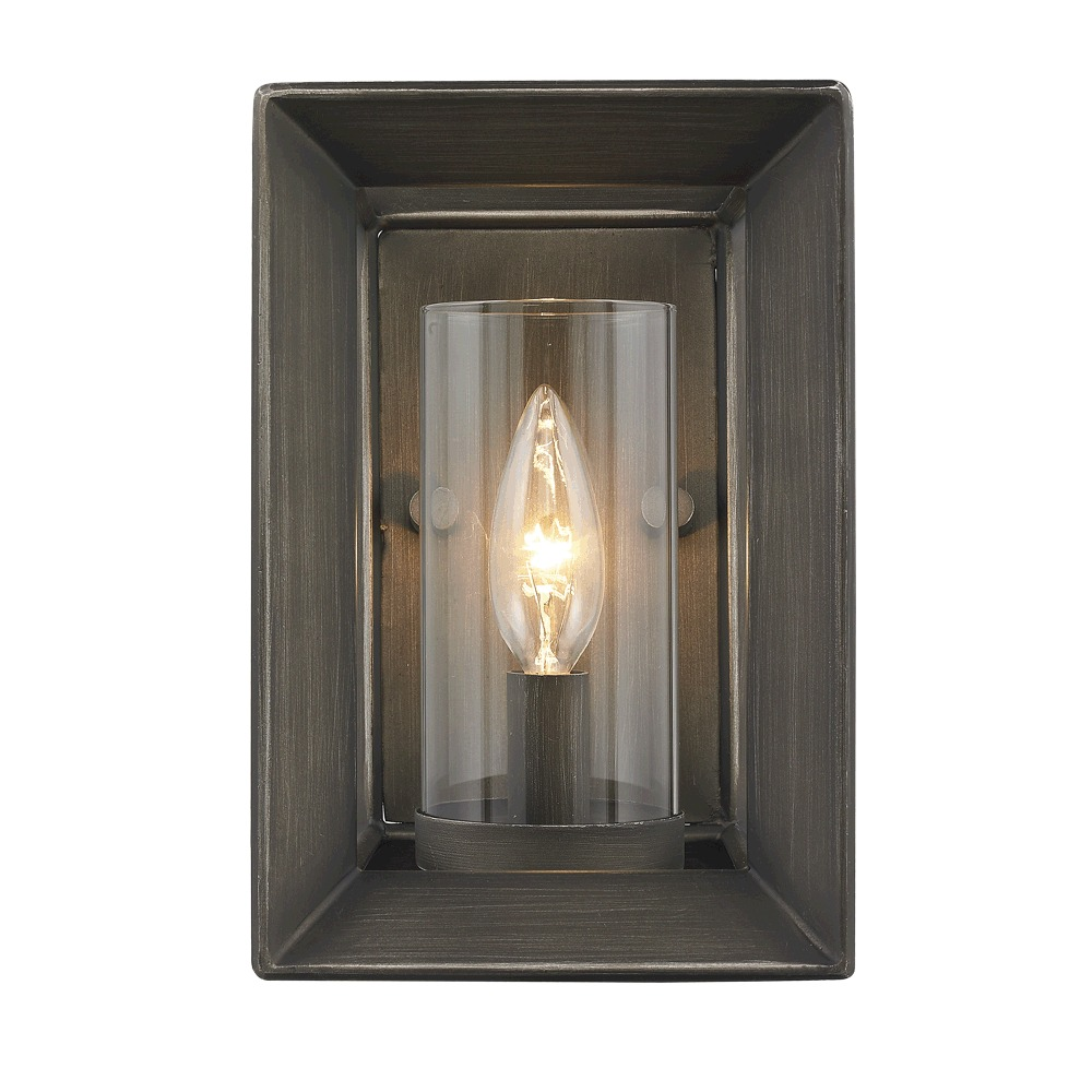 Smyth 1 Light Wall Sconce Gunmetal Bronze 2073 1W GMT