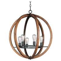 Bodega Bay 6-LT Single-Tier Chandelier