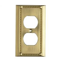 Clickplates Switch Plate In Brass