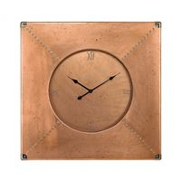 Copper Frame Clock