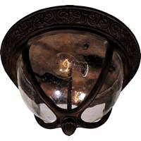 Knob Hill Cast 2-LT Outdoor Flush Mount