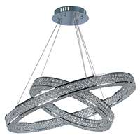 Eternity LED 2 Tier Entry Foyer Pendant