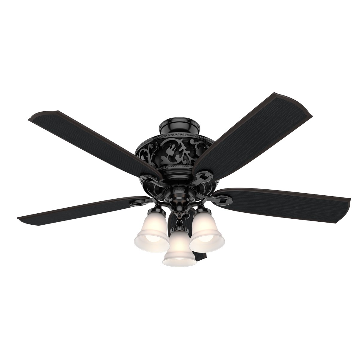 "Hunter Promenade 54"" Ceiling Fan with Light with Handheld Remote"