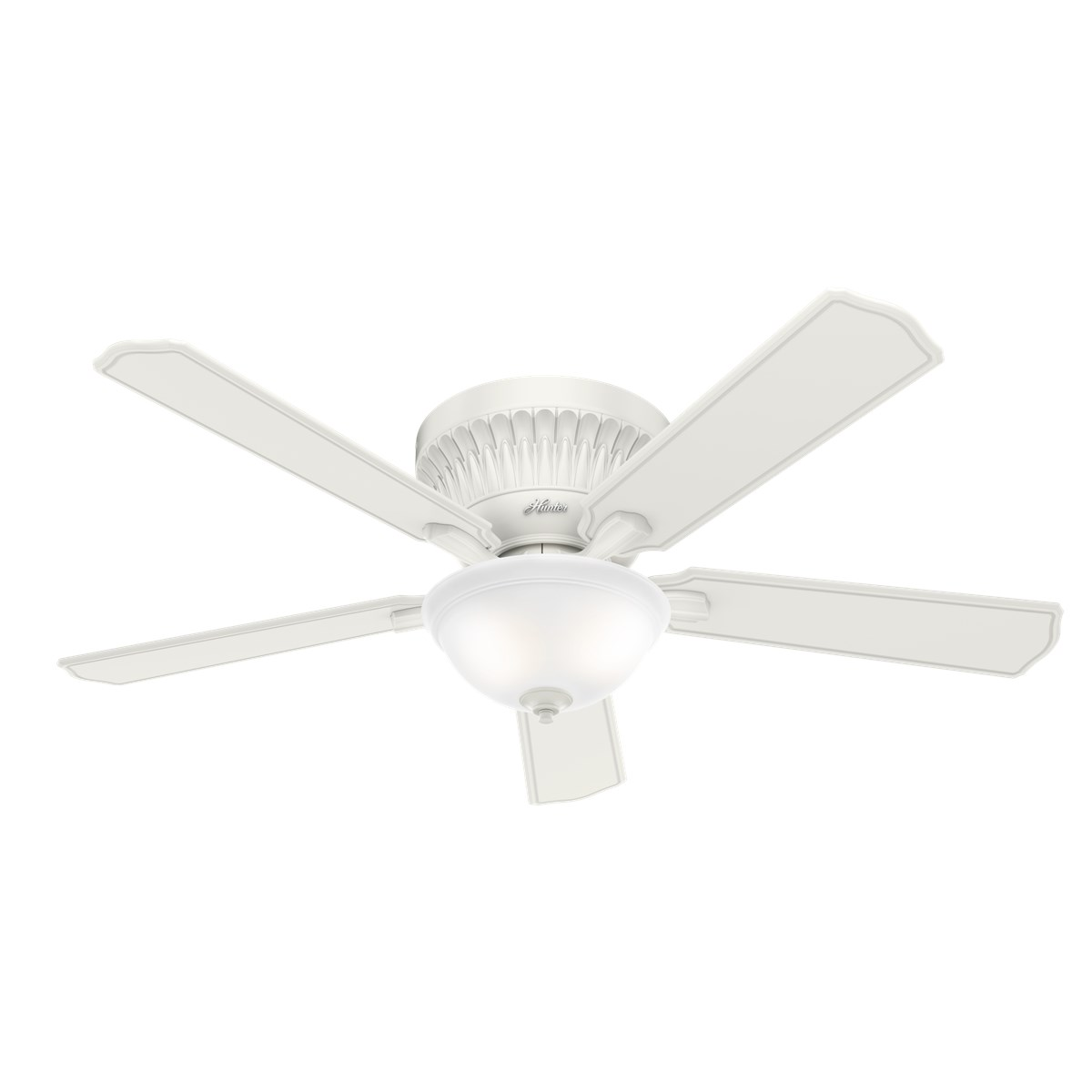 """Hunter Chauncey 54"""" Ceiling Fan with Light with Handheld Remote"""