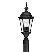 3 Lamp Outdoor Post Light