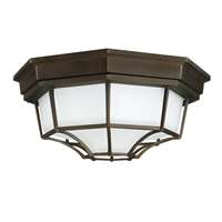 2 Lamp Outdoor Ceiling Light
