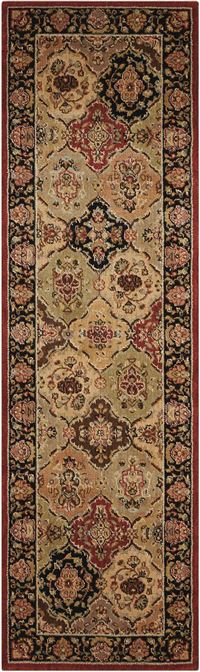 "Kathy Ireland Lumiere ""Persian Tapestry"" Multicolor Area Rug"