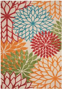 Aloha Green Indoor/Outdoor Area Rug