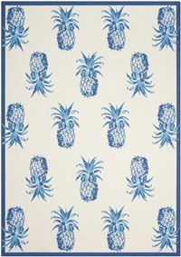 "Waverly Sun & Shad ""Pineapple Grove"" Ivory Area Rug"