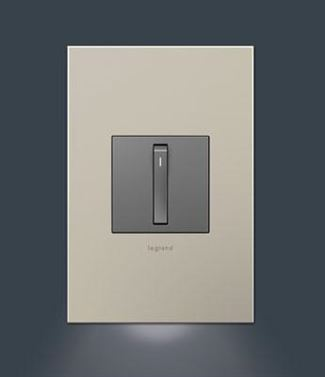 Legrand Adorne Accent Nightlight, 1-Gang - AAAL1G4