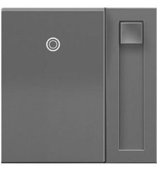 Legrand adorne Paddle Dimmer in Magnesium Finish - ADPD453LM2