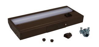 "American Lighting 120V LED DIMMABLE UC, 8.5"", 3000K, 3W, DK BRONZE, C/ETL/US Dark Bronze ALC-8-DB"