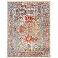 Sanya Red-Yellow Bordered Rectangular Accent Rug 2'x3'