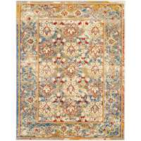 Sanya Ivory-Yellow Bordered Rectangular Accent Rug 2'x3'