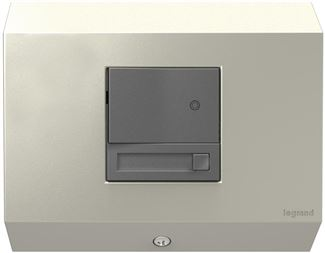 Legrand Adorne Control Box with Paddle Dimmer in Titanium Finish - APCB1TM4