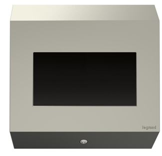 Legrand adorne Control Box, 2-Gang, No Devices in Titanium Finish - APCB5TM1