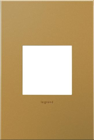 Legrand adorne Satin Bronze Switch Plate in Satin Bronze Finish - AWC1G2SB4