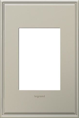 Legrand adorne Antique Nickel Switch Plate in Antique Nickel Finish - AWC1G3AN4