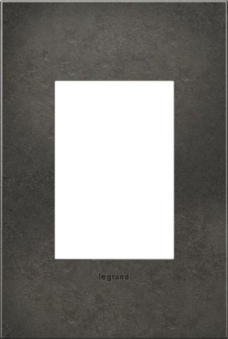Legrand adorne Dark Burnished Pewter Switch Plate in Dark Burnished Pewter Finish - AWC1G3DP4