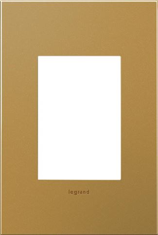 Legrand adorne Satin Bronze Switch Plate in Satin Bronze Finish - AWC1G3SB4