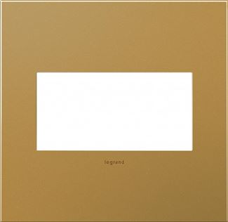 Legrand adorne Satin Bronze Switch Plate in Satin Bronze Finish - AWC2GSB4