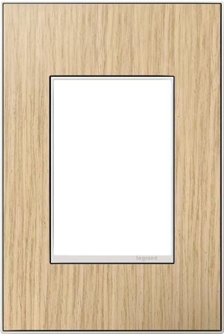 Legrand adorne French Oak Switch Plate in French Oak Finish - AWM1G3FH4