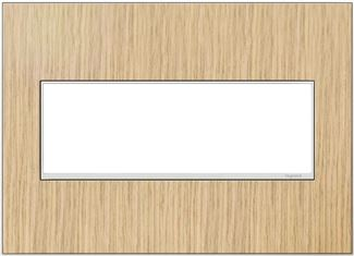 Legrand adorne French Oak Switch Plate in French Oak Finish - AWM3GFH4