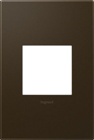 Legrand Adorne Bronze Switch Plate in Bronze Finish - AWP1G2BR10