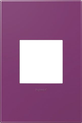 Legrand adorne Plum Switch Plate in Plum Finish - AWP1G2PL4