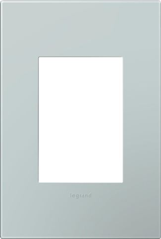 Legrand adorne Pale Blue Switch Plate in Pale Blue Finish - AWP1G3BL4