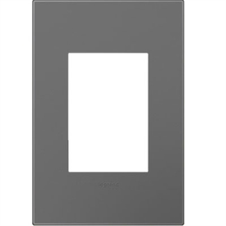 Legrand adorne Magnesium 1-Gang, 3-Module Wall Plate