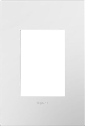 Legrand adorne Gloss White Switch Plate in Gloss White Finish - AWP1G3WH4