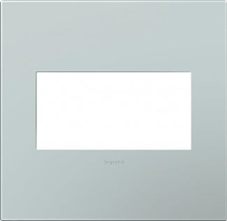 Legrand adorne Pale Blue Switch Plate in Pale Blue Finish - AWP2GBL4