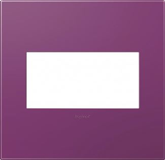 Legrand adorne Plum Switch Plate in Plum Finish - AWP2GPL4