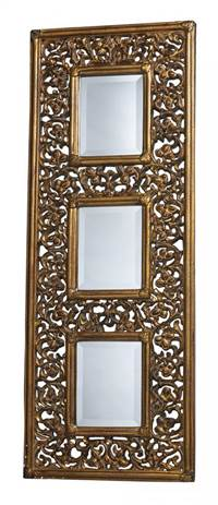 Sterling Rickland Mirror In Stewartstown Gold  DM1923