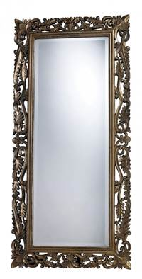 Sterling Tripoli Mirror In Allen Gold  DM1930