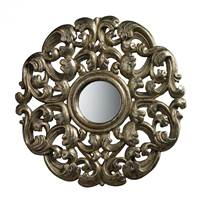 Sterling Lanne Mirror In Blackwood Silver  DM1932