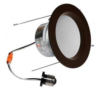 "American Lighting E-PRO 5"" DOWNLIGHT, 3000K, E26 BASE, DB TRIM, 9.5W Dark Bronze EP5-E26-30-DB"