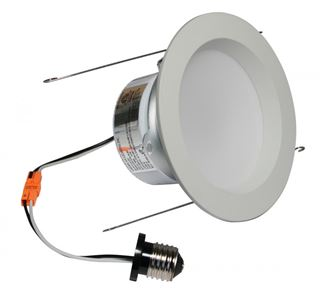 "American Lighting E-PRO 5"" DOWNLIGHT, 3000K, E26 BASE, WH TRIM, 9.5W White EP5-E26-30-WH"